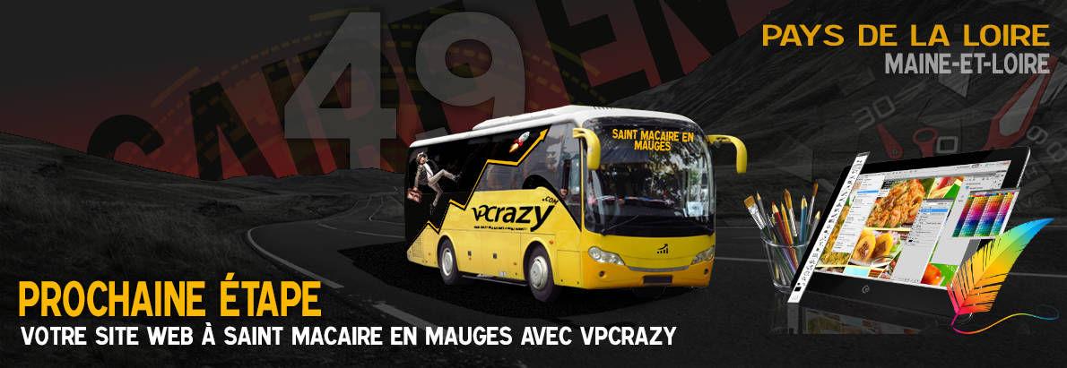Meilleure agence de conception de sites Internet Saint-Macaire-en-Mauges 49450