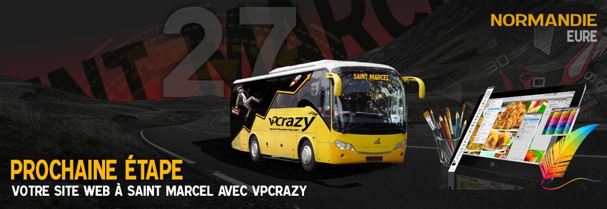 Meilleure agence de conception de sites Internet Saint-Marcel 27950