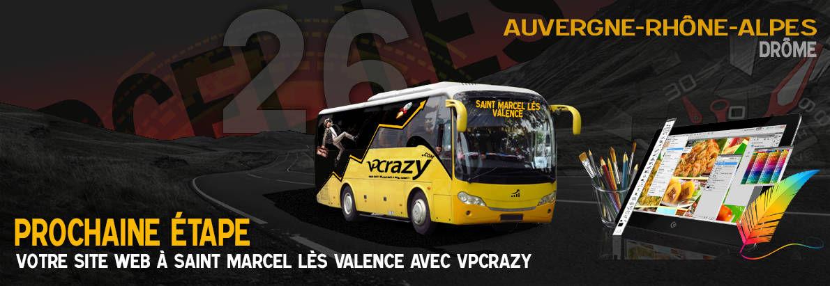 Meilleure agence de conception de sites Internet Saint-Marcel-lès-Valence 26320