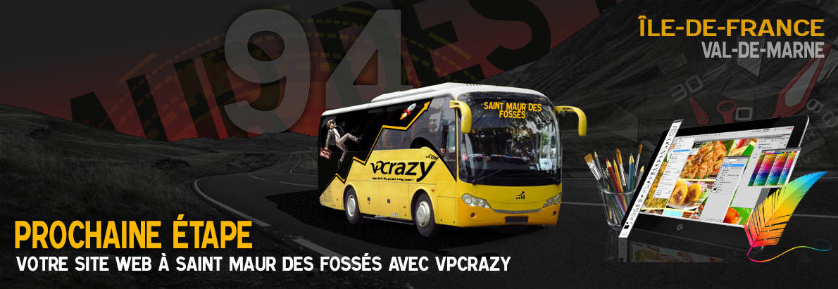 Meilleure agence de conception de sites Internet Saint-Maur-des-Fossés 94100