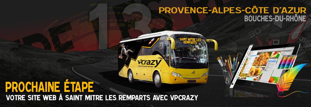 Meilleure agence de conception de sites Internet Saint-Mitre-les-Remparts 13920