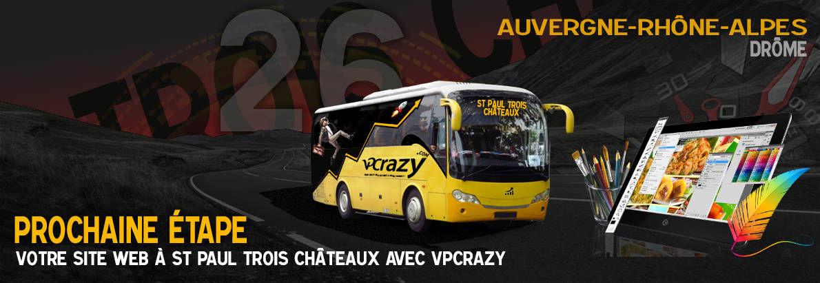 Meilleure agence de conception de sites Internet St-Paul-Trois-Châteaux 26130