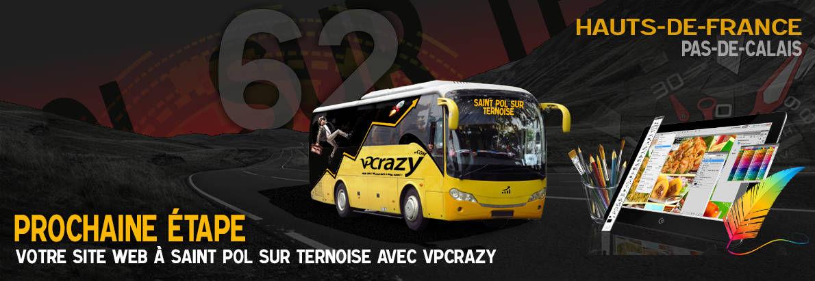 Meilleure agence de conception de sites Internet Saint-Pol-sur-Ternoise 62130