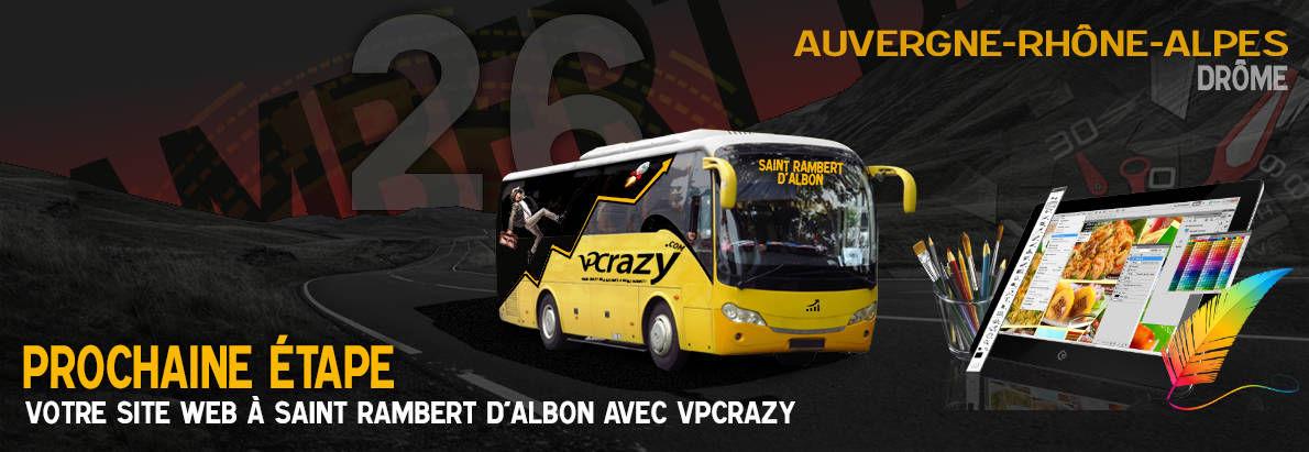 Meilleure agence de conception de sites Internet Saint-Rambert-d'Albon 26140
