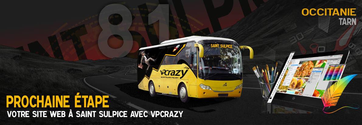 Meilleure agence de conception de sites Internet Saint-Sulpice 81370