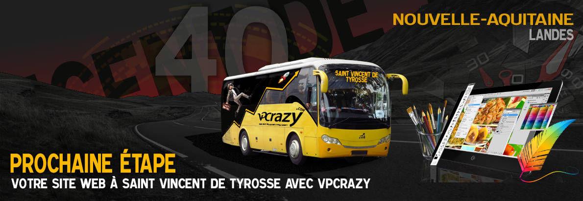 Meilleure agence de conception de sites Internet Saint-Vincent-de-Tyrosse 40230