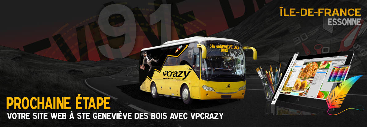 Meilleure agence de conception de sites Internet Ste-Geneviève-des-Bois 91700