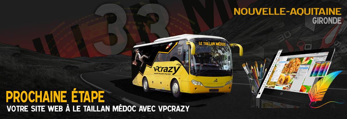 Meilleure agence de conception de sites Internet Le Taillan-Médoc 33320