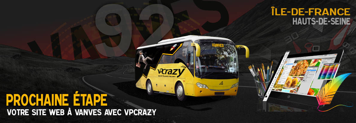 Meilleure agence de conception de sites Internet Vanves 92170
