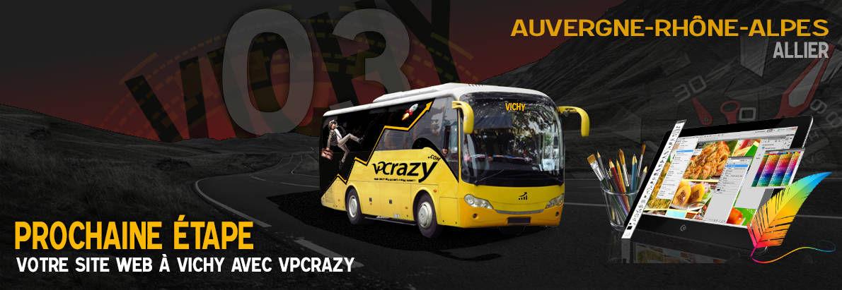 Meilleure agence de conception de sites Internet Vichy 3200
