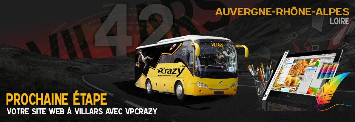 Meilleure agence de conception de sites Internet Villars 42390
