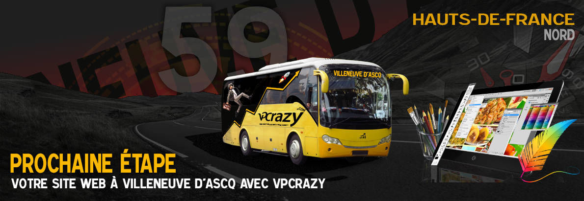 Meilleure agence de conception de sites Internet Villeneuve-d'Ascq 59491