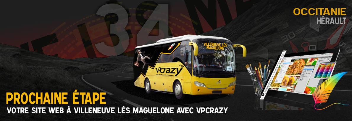 Meilleure agence de conception de sites Internet Villeneuve-lès-Maguelone 34750