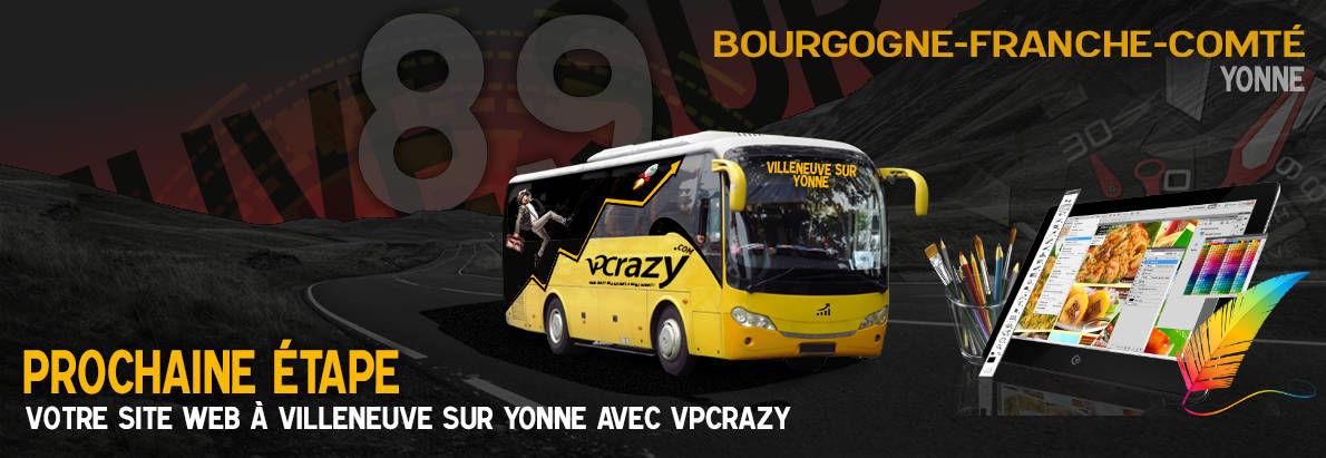 Meilleure agence de conception de sites Internet Villeneuve-sur-Yonne 89500