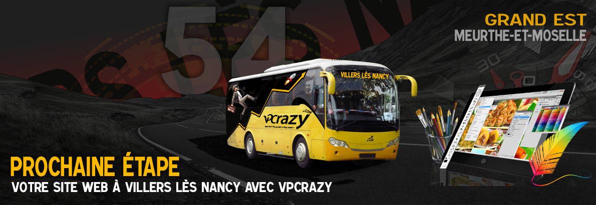 Meilleure agence de conception de sites Internet Villers-lès-Nancy 54600