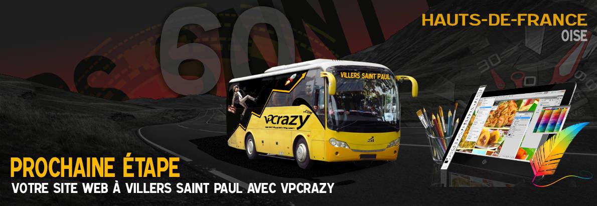 Meilleure agence de conception de sites Internet Villers-Saint-Paul 60870