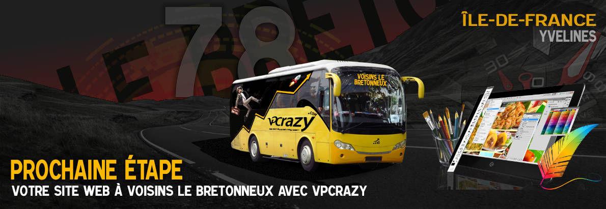 Meilleure agence de conception de sites Internet Voisins-le-Bretonneux 78960