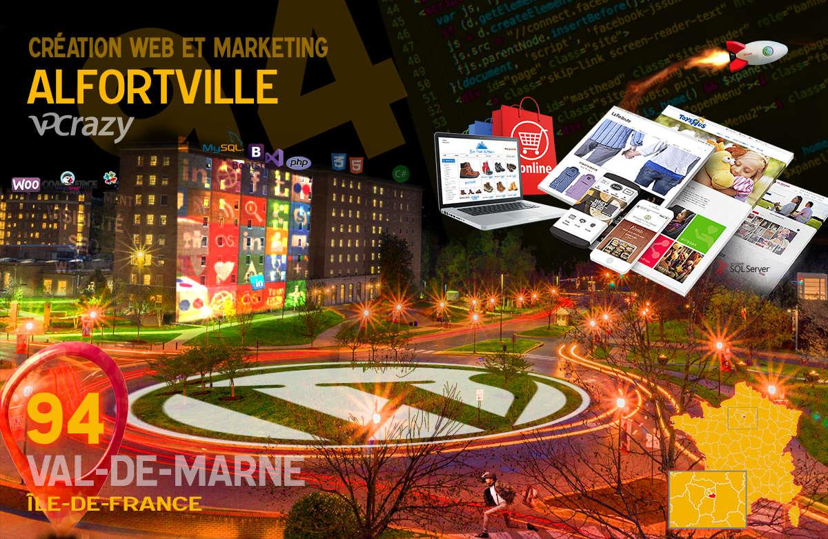 Créateur de site internet Alfortville et Marketing Web