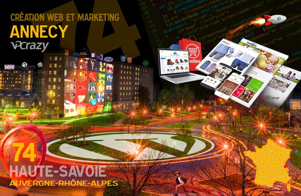 Créateur de site internet Annecy et Marketing Web