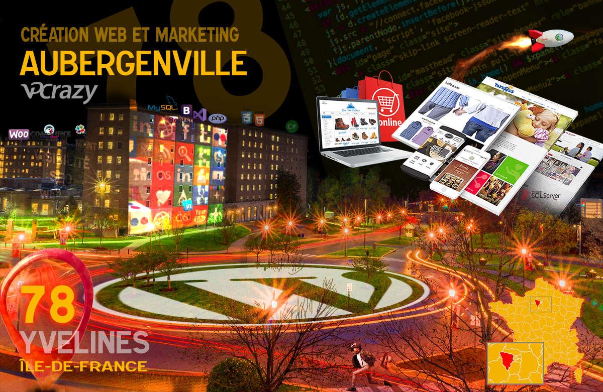 Créateur de site internet Aubergenville et Marketing Web