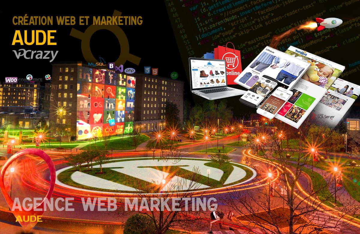 Créateur de site internet Aude et Marketing Web