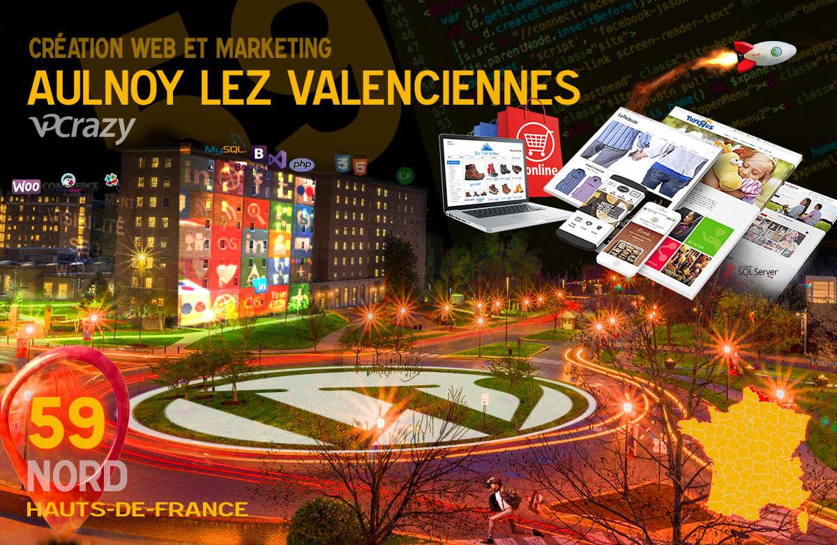 Créateur de site internet Aulnoy-lez-Valenciennes et Marketing Web