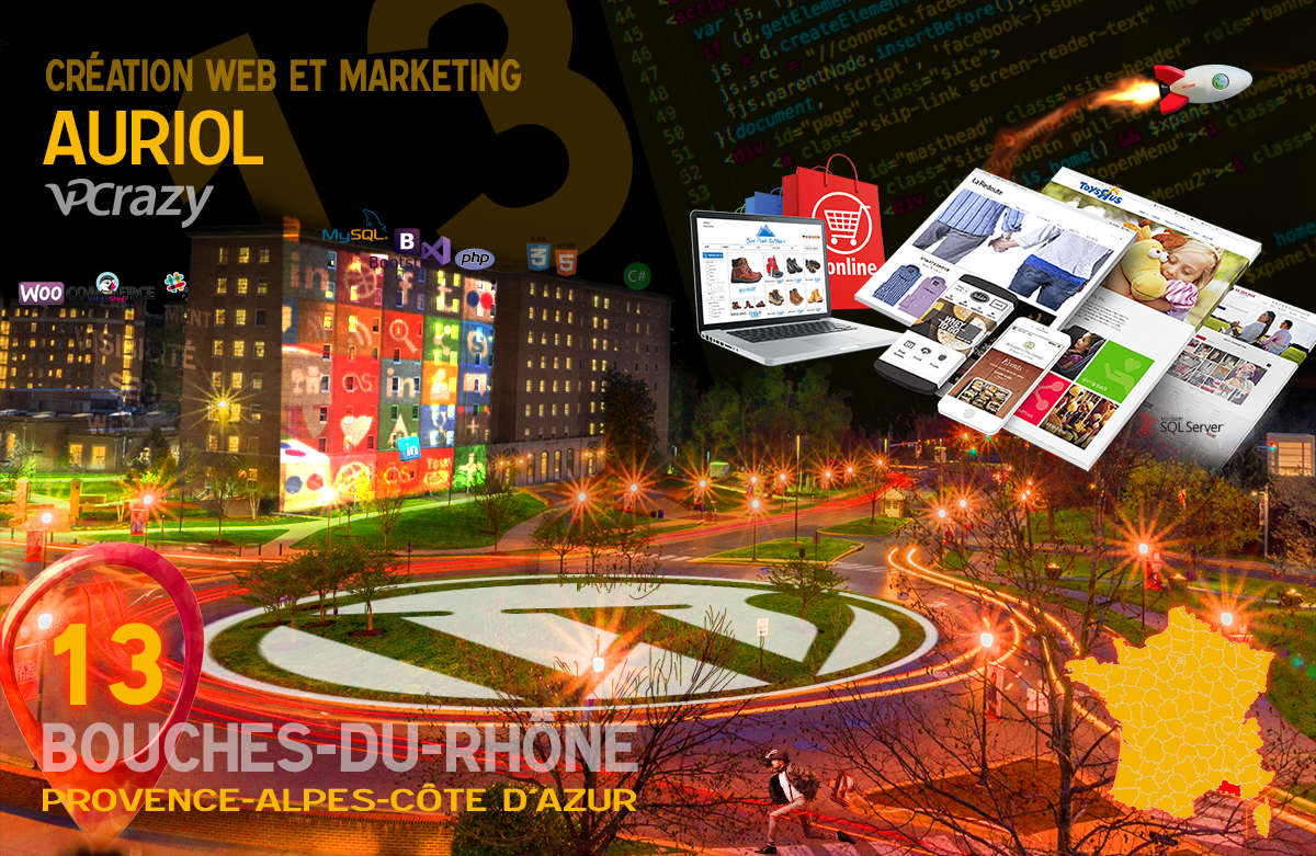 Créateur de site internet Auriol et Marketing Web