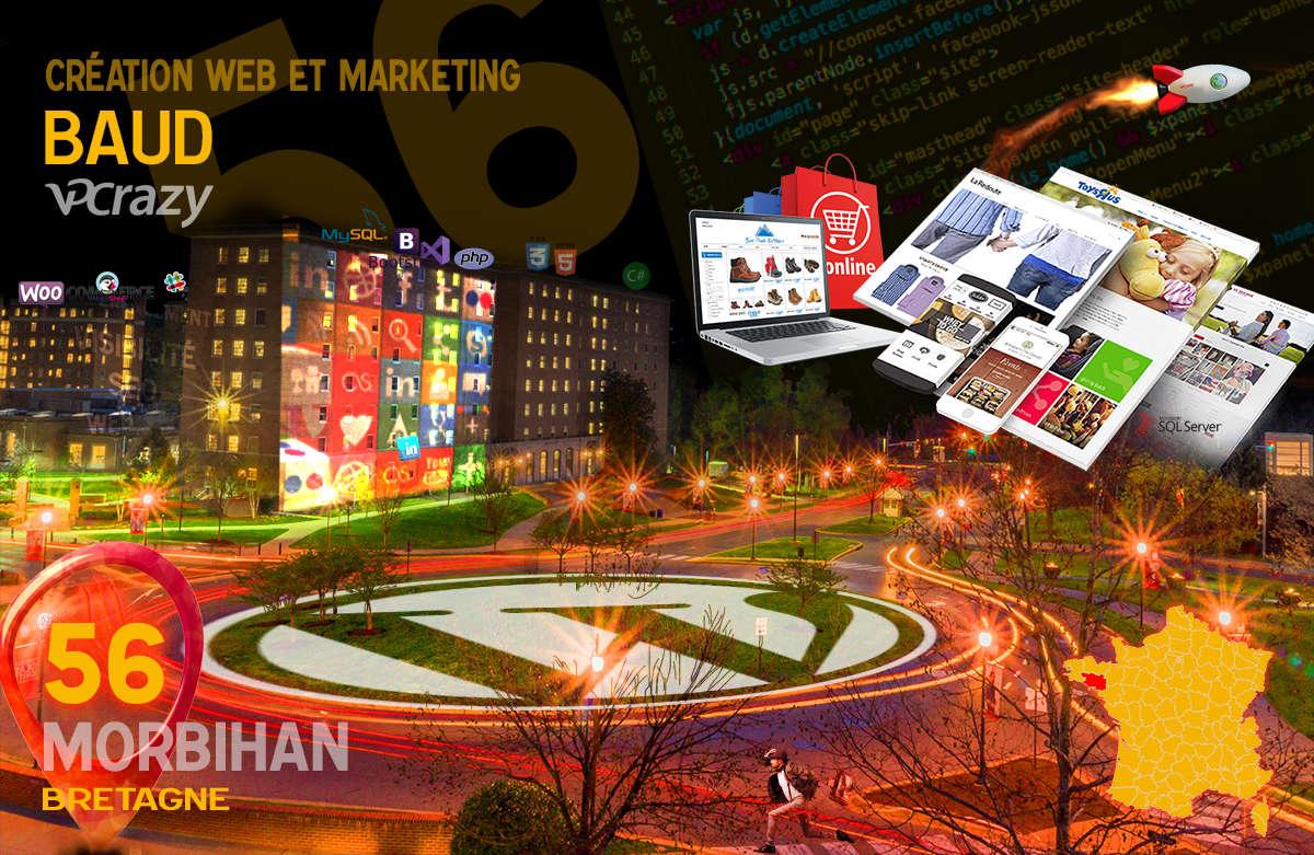 Créateur de site internet Baud et Marketing Web