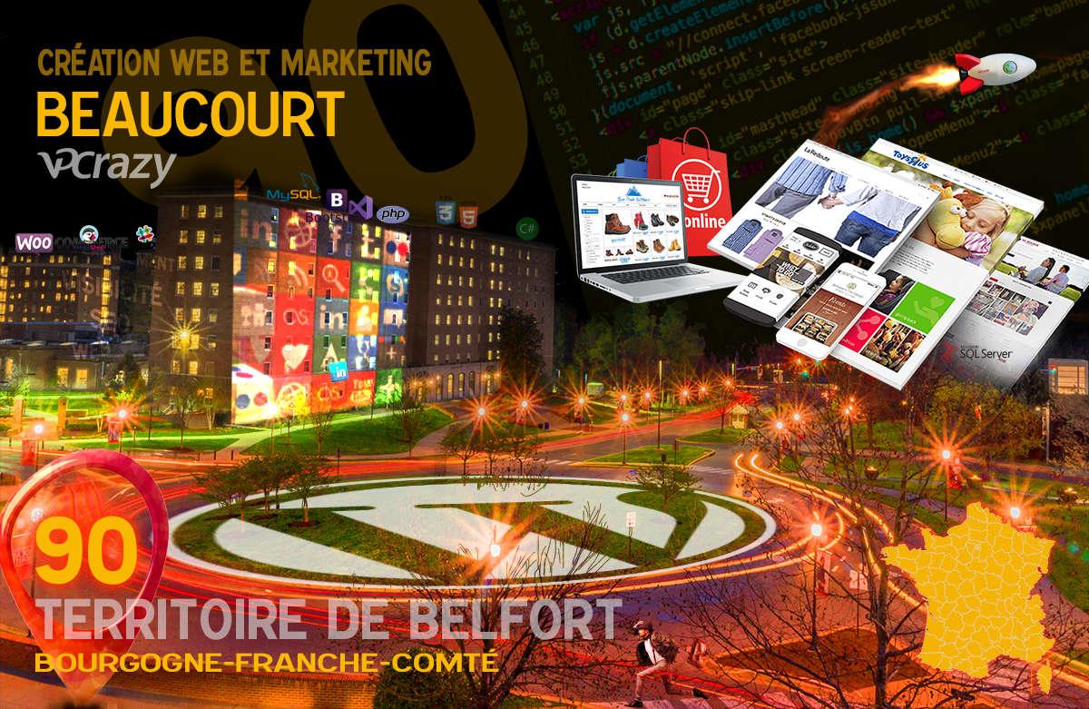 Créateur de site internet Beaucourt et Marketing Web