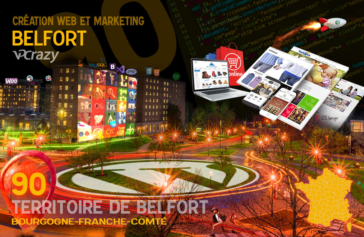 Créateur de site internet Belfort et Marketing Web
