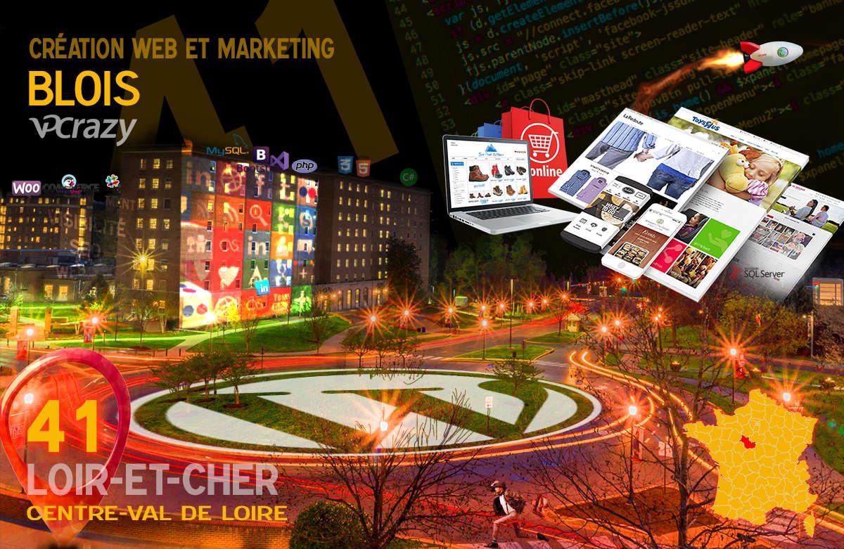 Créateur de site internet Blois et Marketing Web