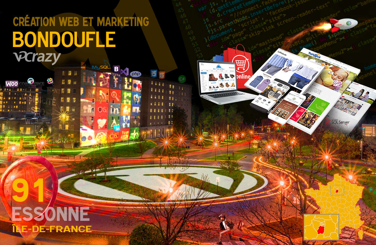 Créateur de site internet Bondoufle et Marketing Web