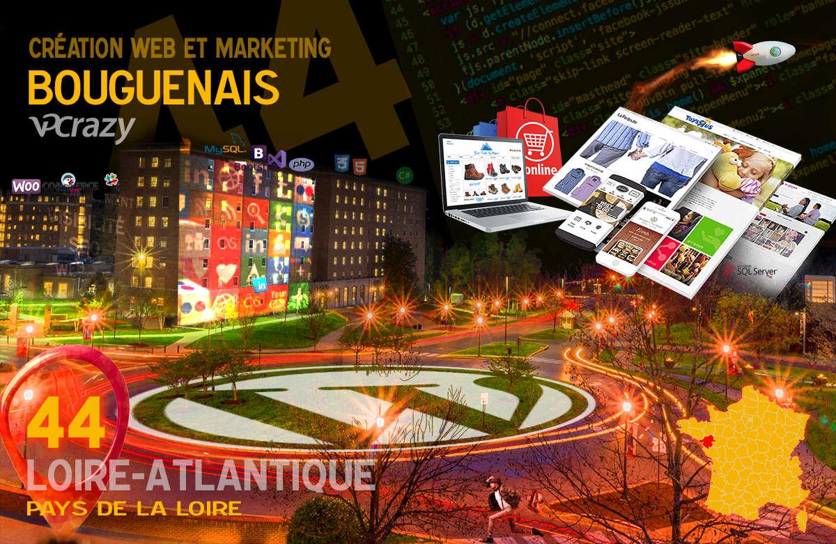 Créateur de site internet Bouguenais et Marketing Web