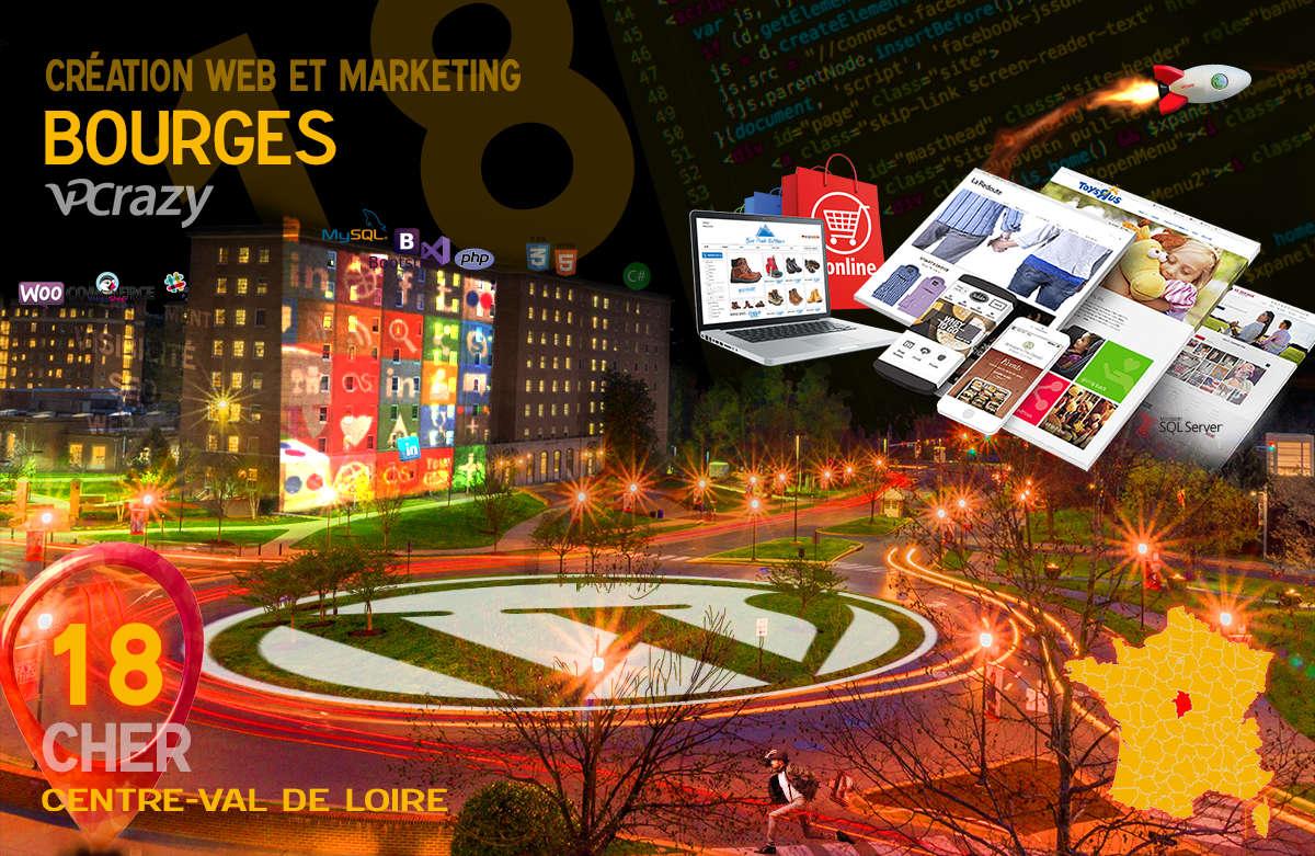 Créateur de site internet Bourges et Marketing Web