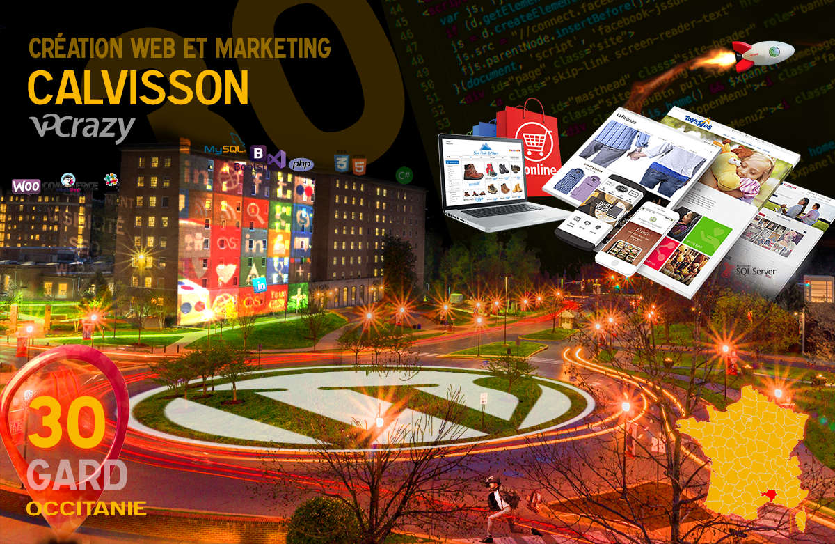 Créateur de site internet Calvisson et Marketing Web