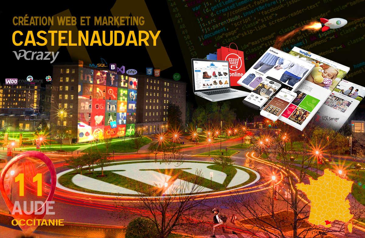 Créateur de site internet Castelnaudary et Marketing Web
