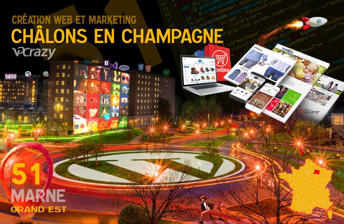 Créateur de site internet Châlons-en-Champagne et Marketing Web