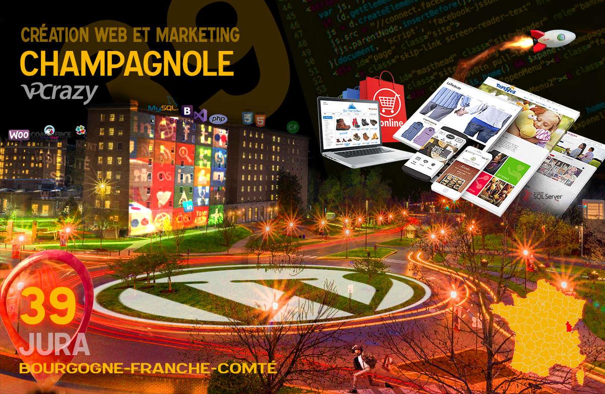 Créateur de site internet Champagnole et Marketing Web