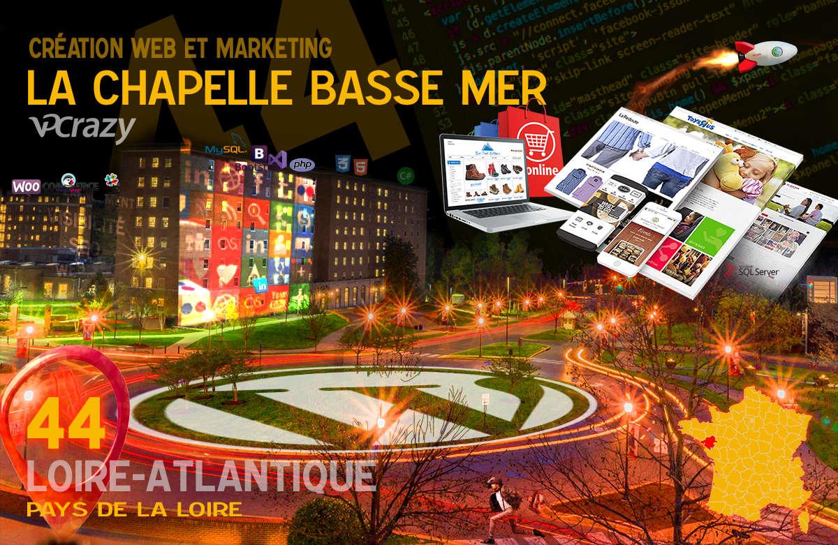Créateur de site internet La Chapelle-Basse-Mer et Marketing Web