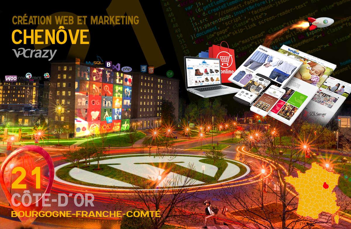 Créateur de site internet Chenôve et Marketing Web