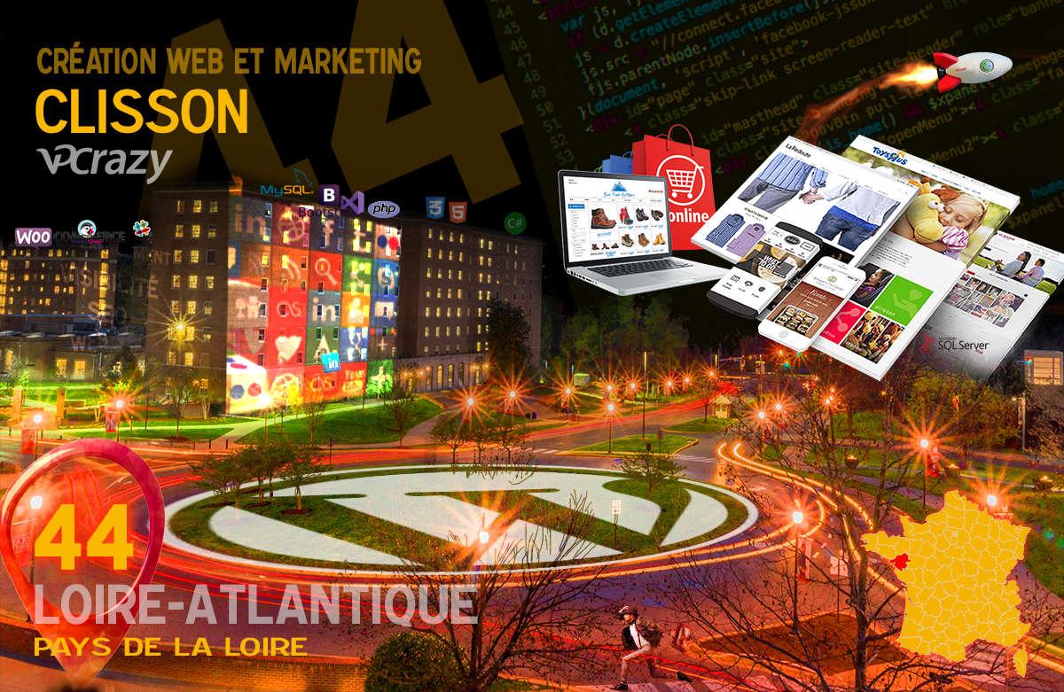 Créateur de site internet Clisson et Marketing Web