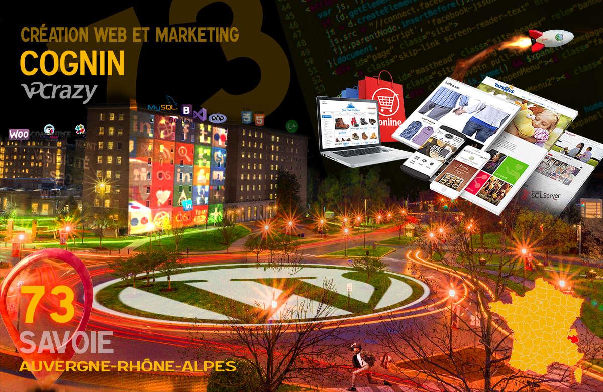 Créateur de site internet Cognin et Marketing Web