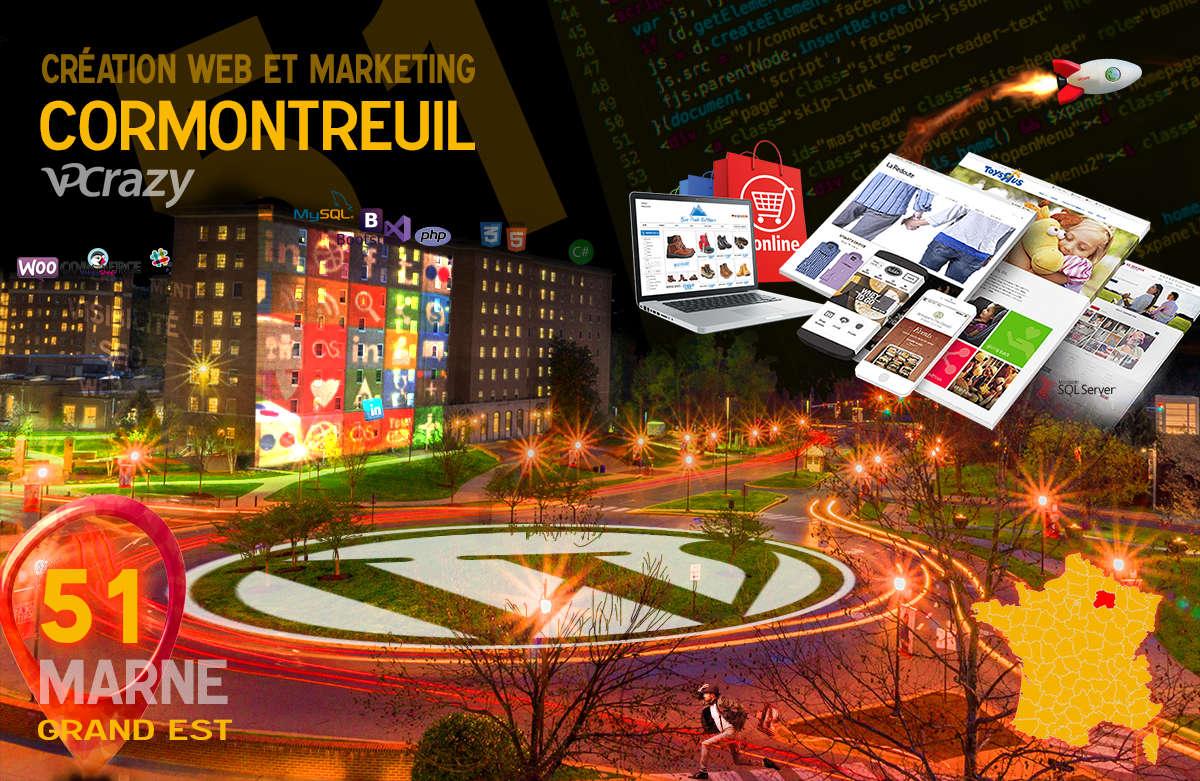 Créateur de site internet Cormontreuil et Marketing Web