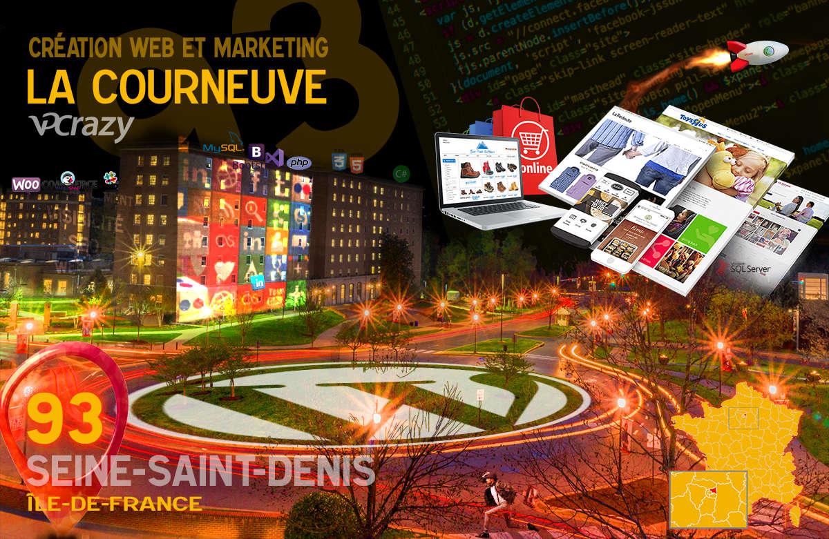 Créateur de site internet La Courneuve et Marketing Web