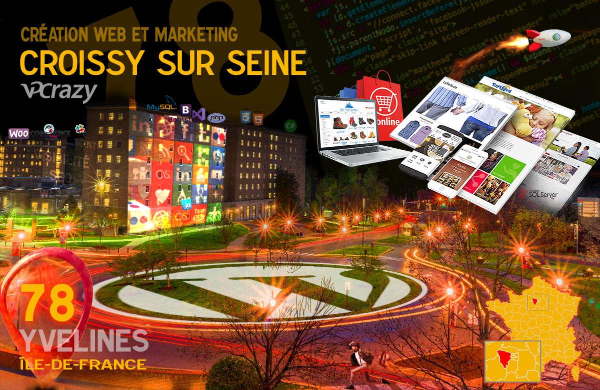 Créateur de site internet Croissy-sur-Seine et Marketing Web