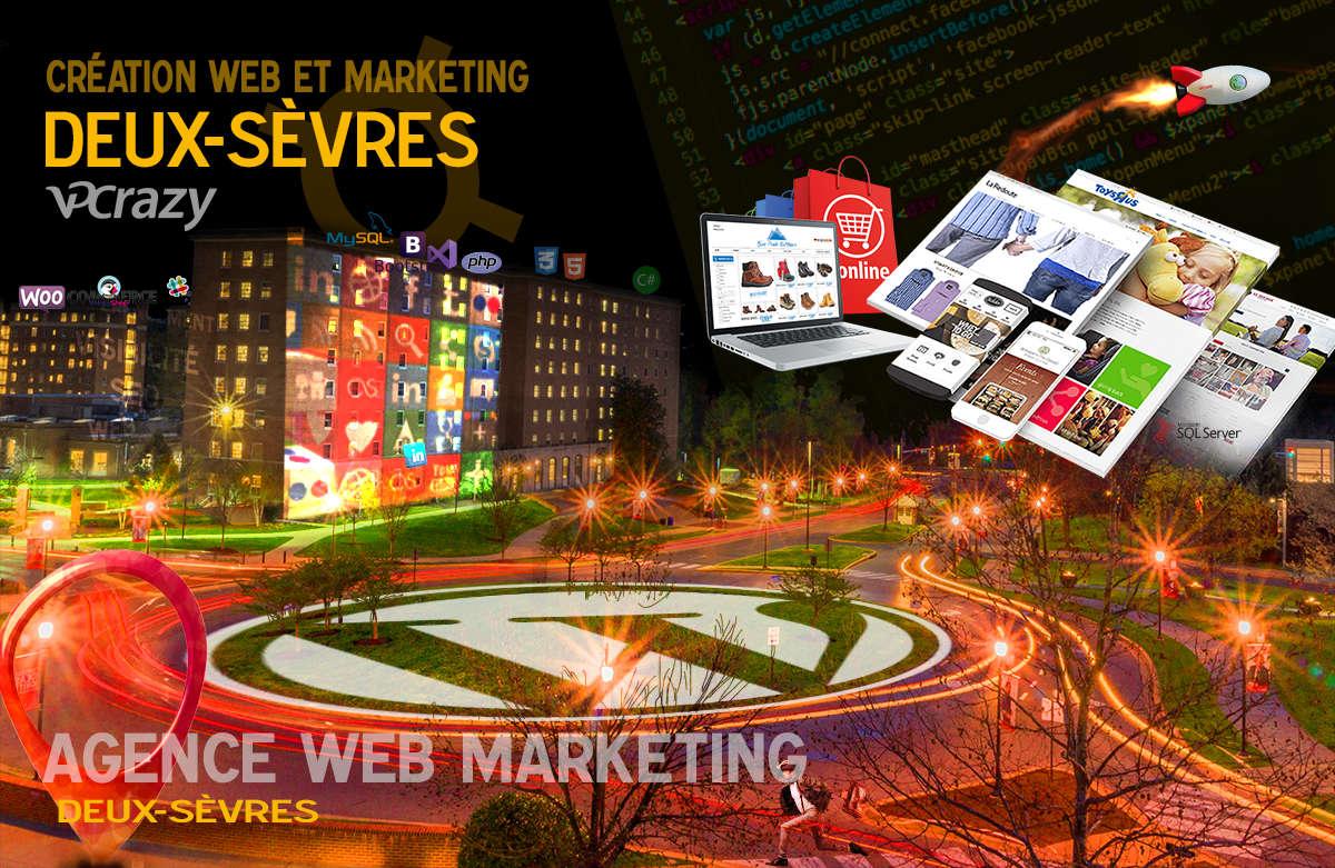 Créateur de site internet Deux-Sèvres et Marketing Web