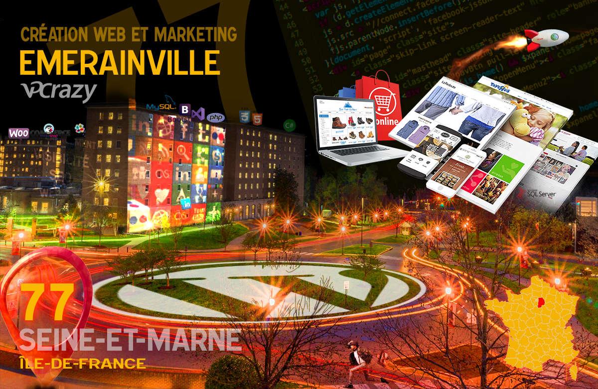 Créateur de site internet Emerainville et Marketing Web