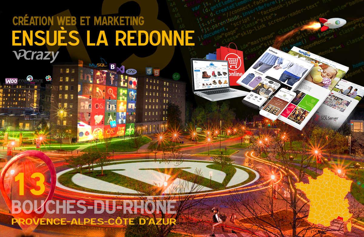 Créateur de site internet Ensuès-la-Redonne et Marketing Web