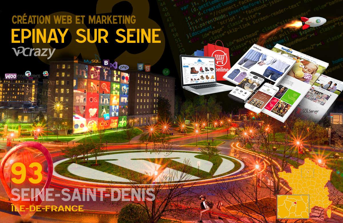 Créateur de site internet Epinay-sur-Seine et Marketing Web