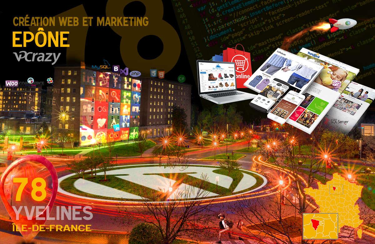 Créateur de site internet Epône et Marketing Web